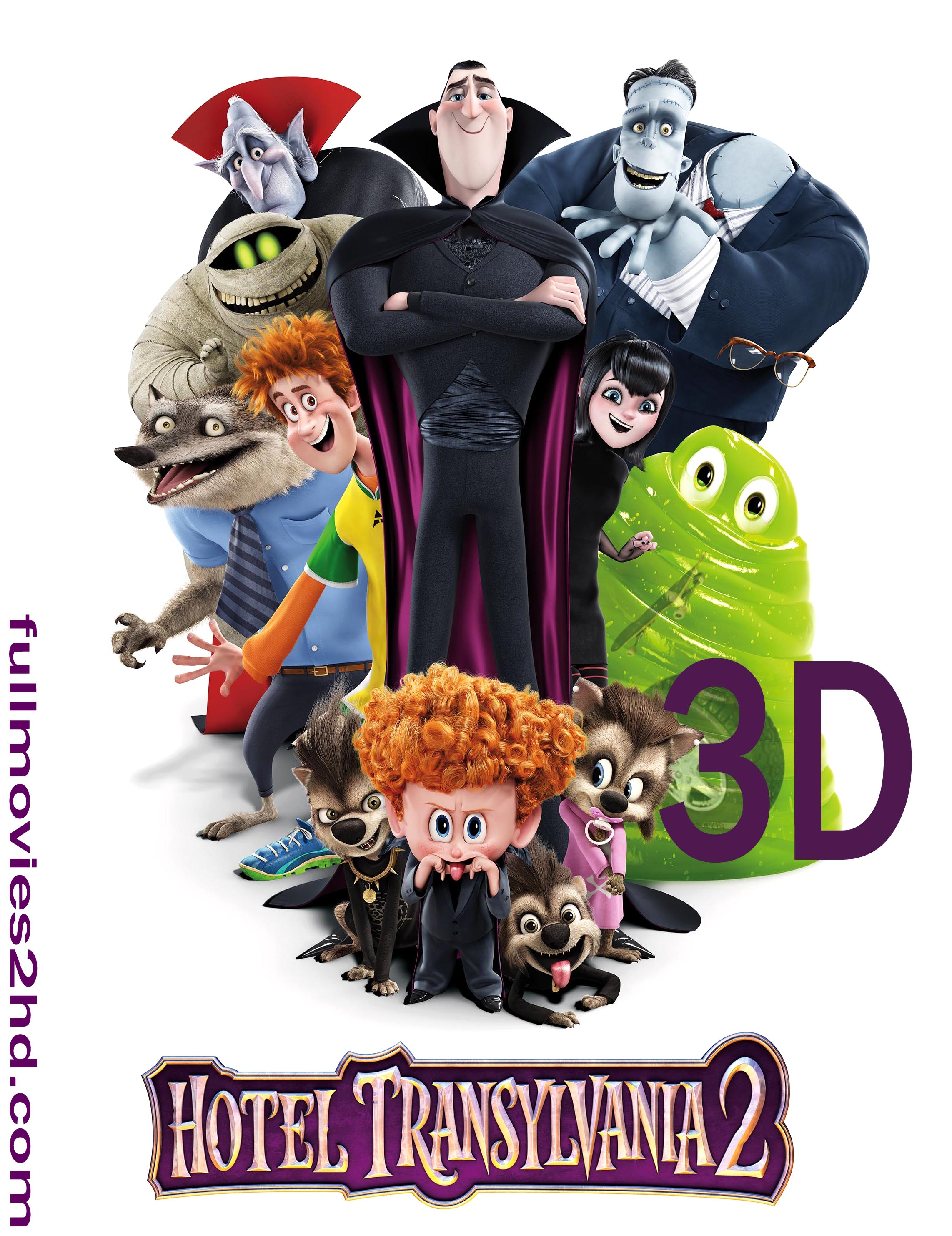 Hotel Transylvania 2 (2015) 3D 1080p BluRay Movie Free Download