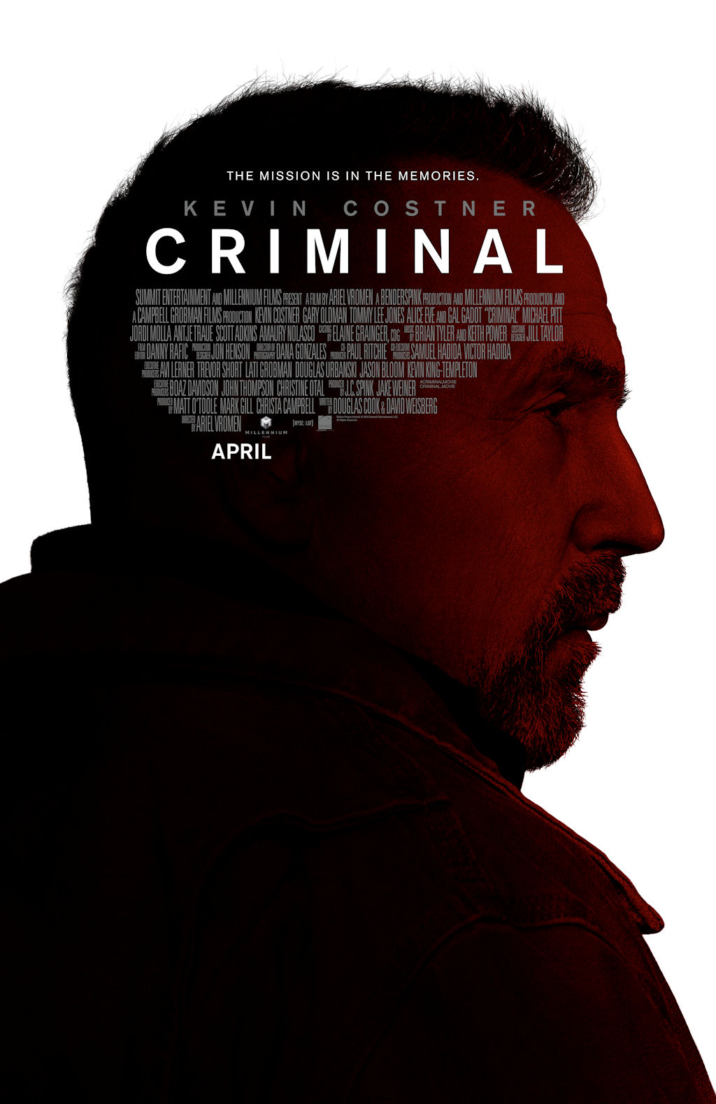 Criminal 2016 Movie Watch Online Free