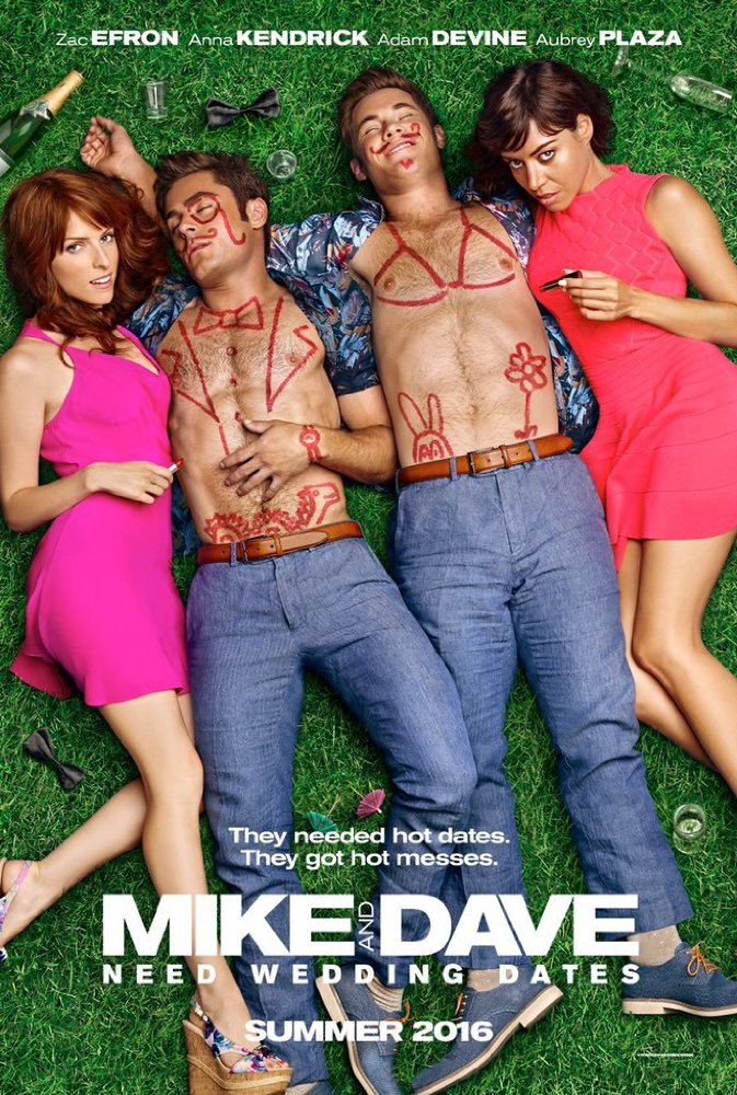 Mike and Dave Need Wedding Dates 2016 Hindi Dubbed Movie Free Download