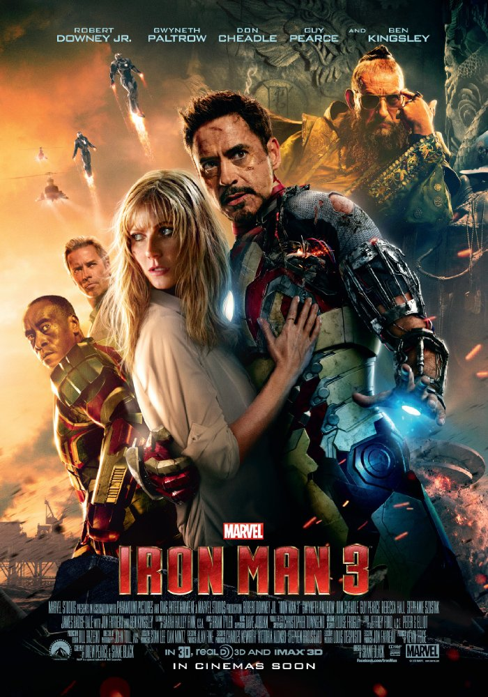Iron Man 3 (2013) Hindi Dubbed Movie Free Download