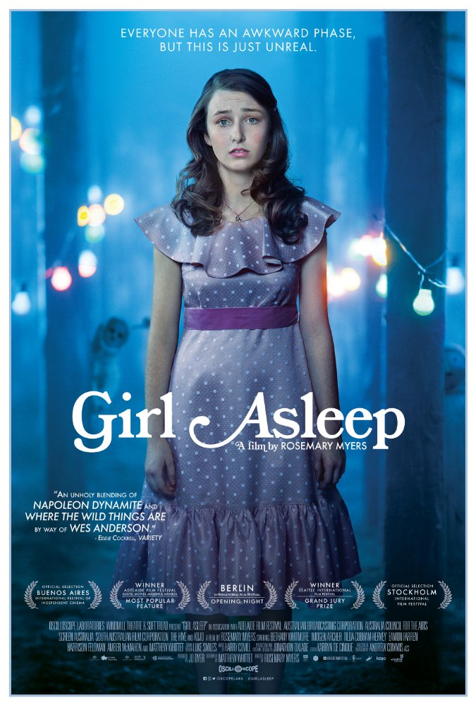 Girl Asleep 2015 Movie Free Download
