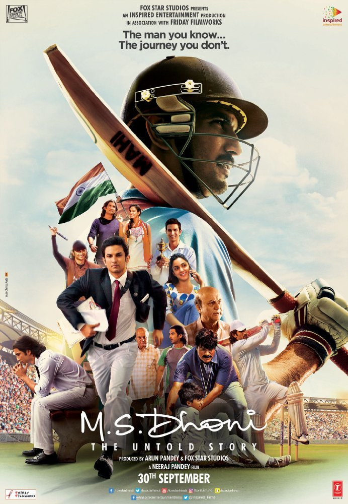 M.S. Dhoni: The Untold Story 2016 Full Hindi Movie Free ...